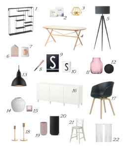 sori writes Interior Blog Shop The Look